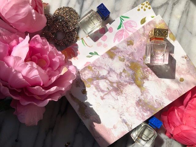 Shop Miss A | Watercolour Floral and Gold Paint Magnetic Palette
