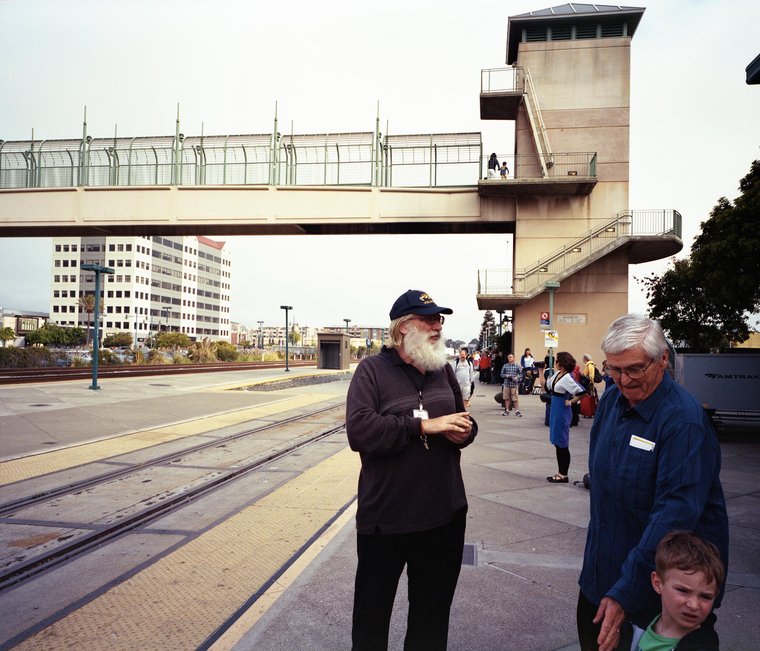 Amtrak Volunteer at Emeryville