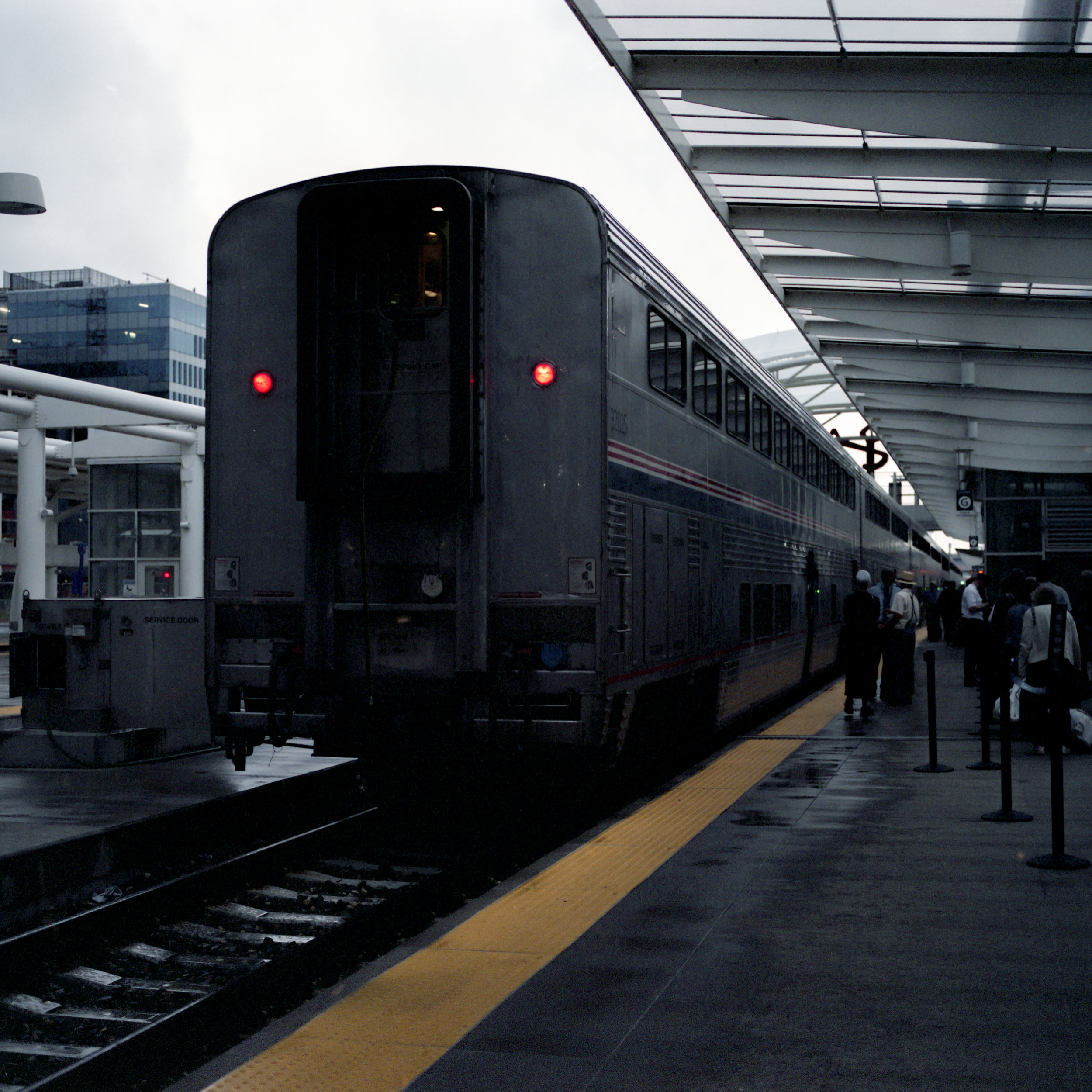 Our train at the Denver station