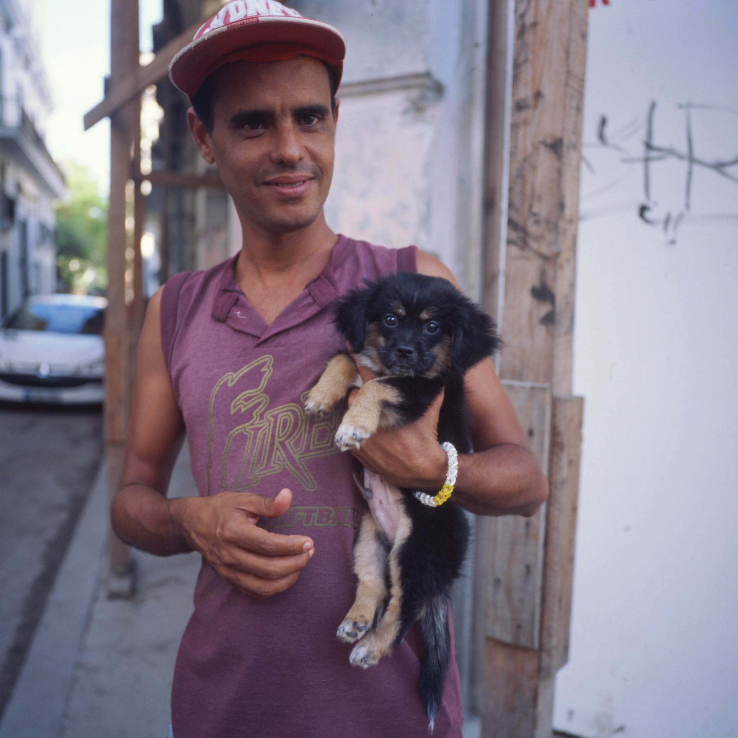 A guy and his doggo