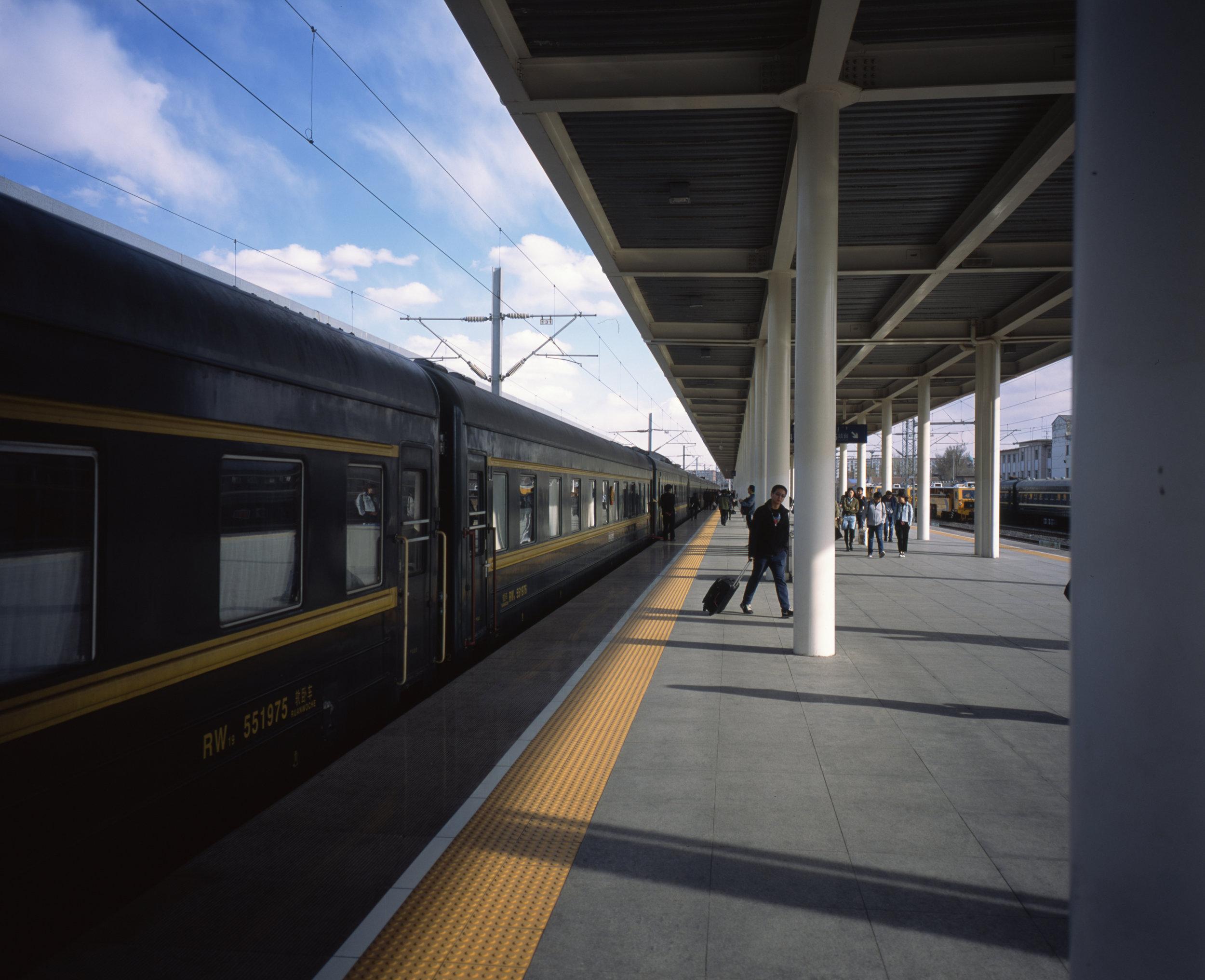 Zhangjiakou Station Fuji GF670w   Fuji Provia 100f