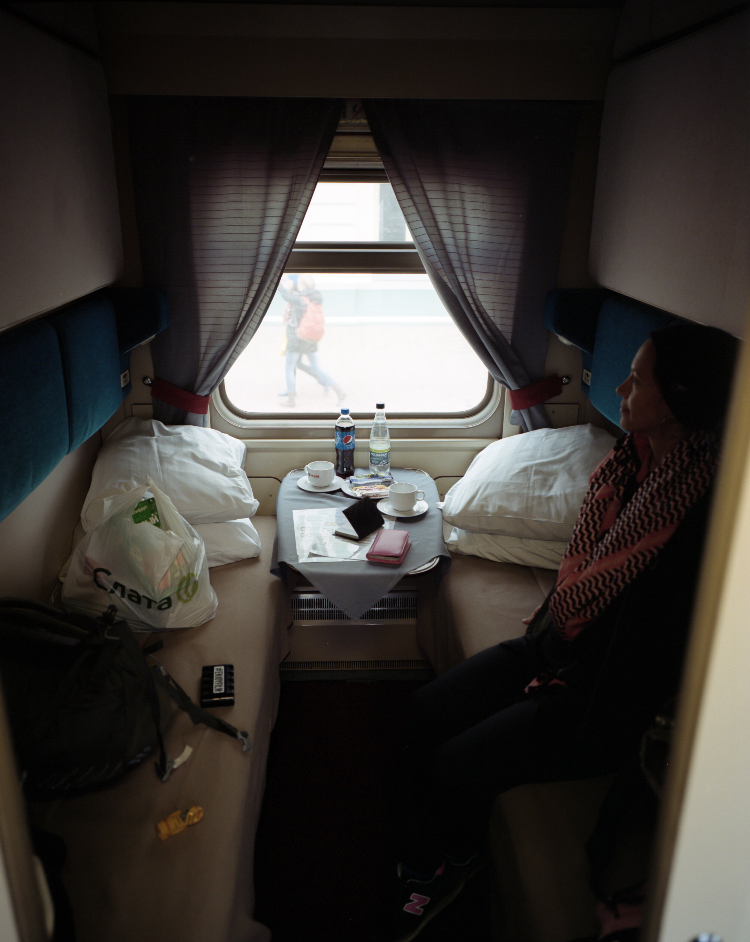 Our room Fuji GF670w   Kodak Portra 400