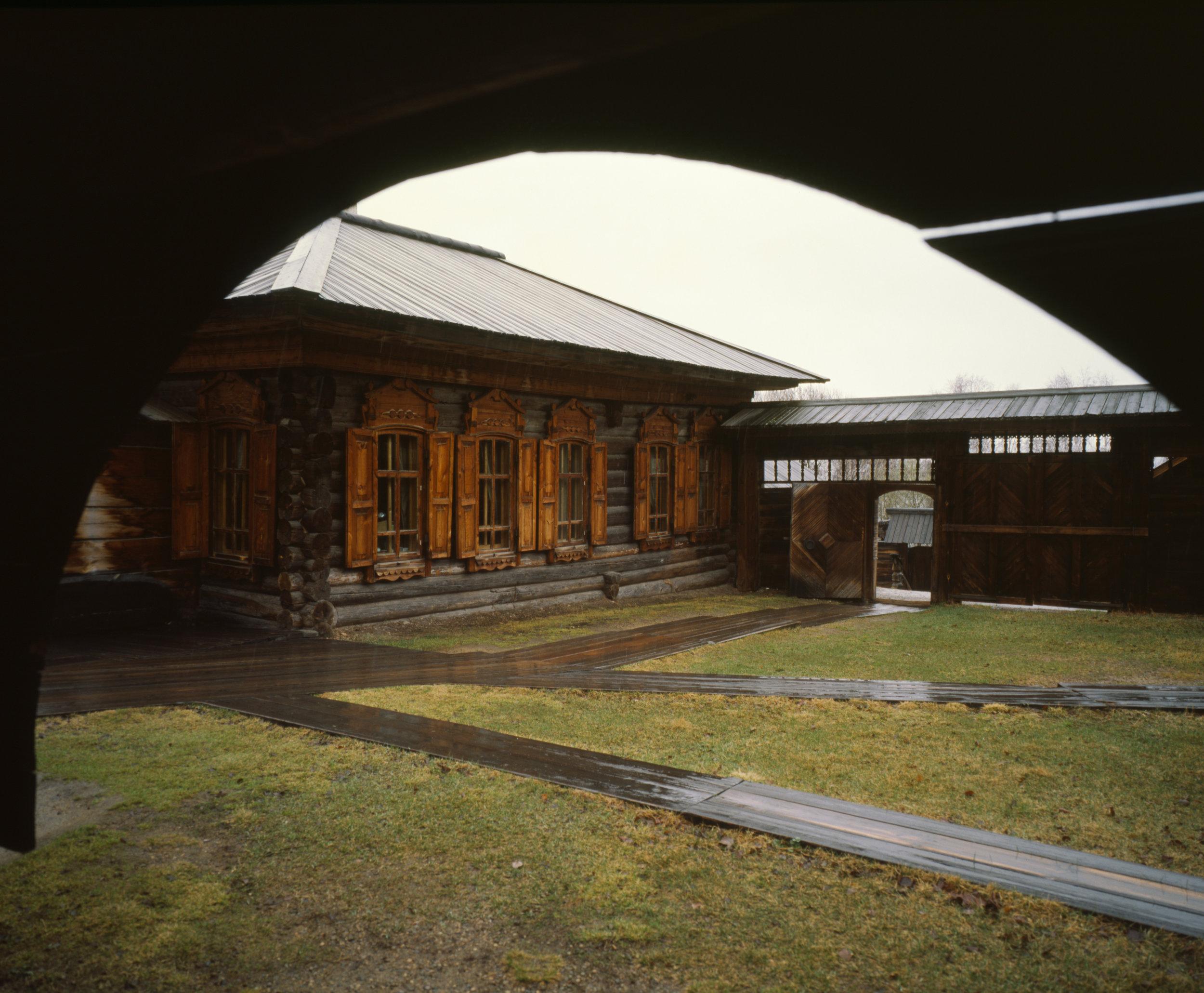 Inside the Taltsy Museum  Fuji GF670w   Kodak E100gx