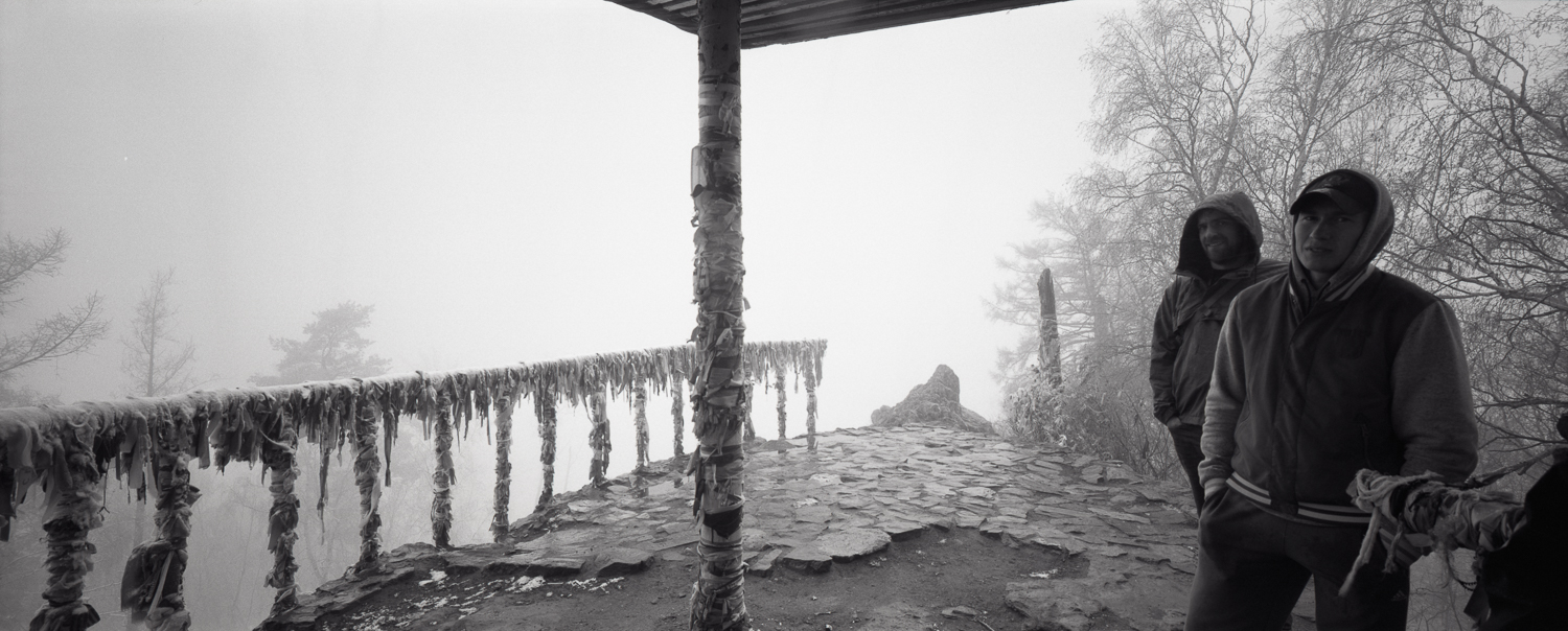 View from the top P6x14   Super Angulon 58mm   Ilford HP5