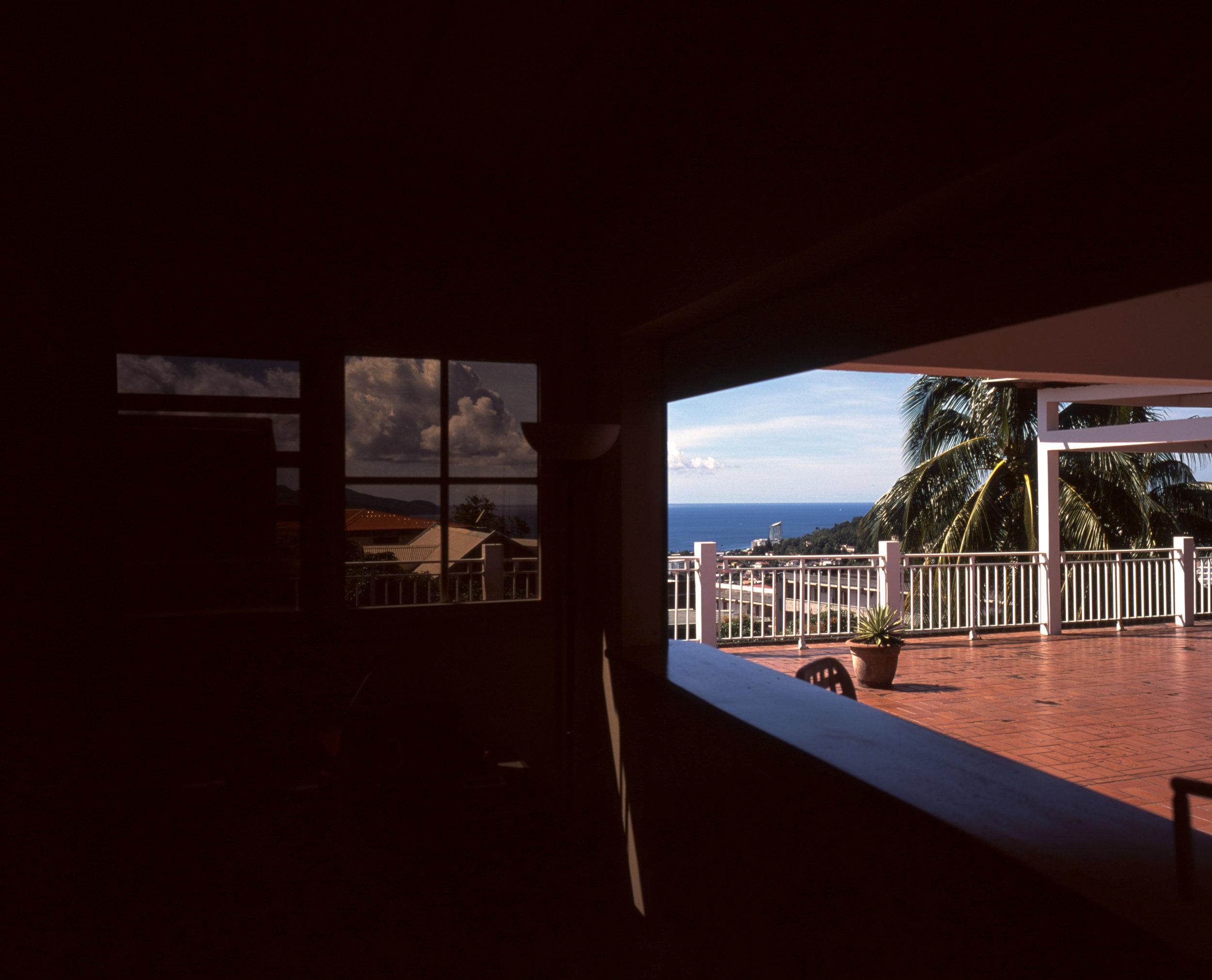 View from our kitchen Fuji GF670w | Fuji Provia 100f