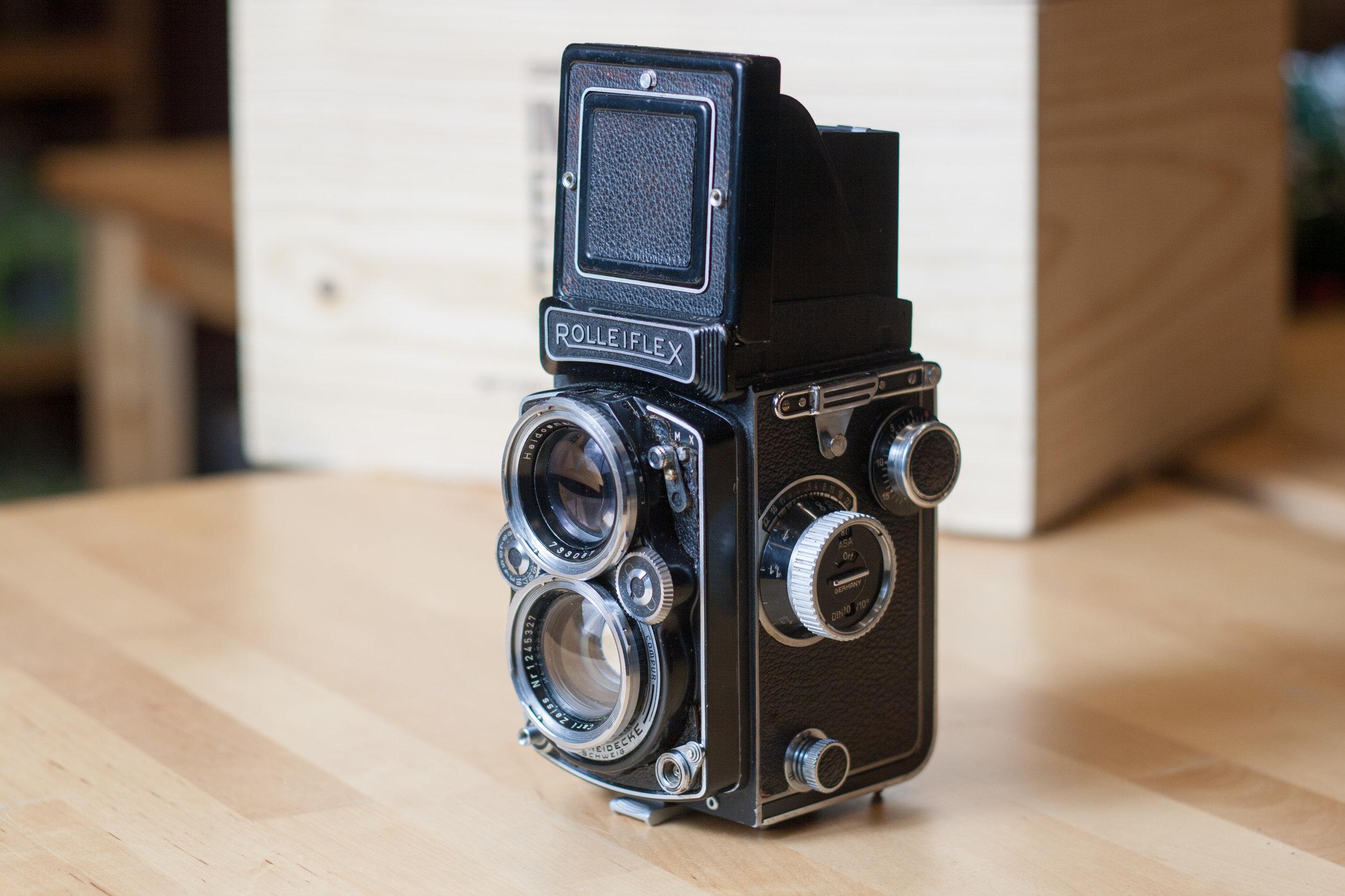 The Rolleiflex 2.8D