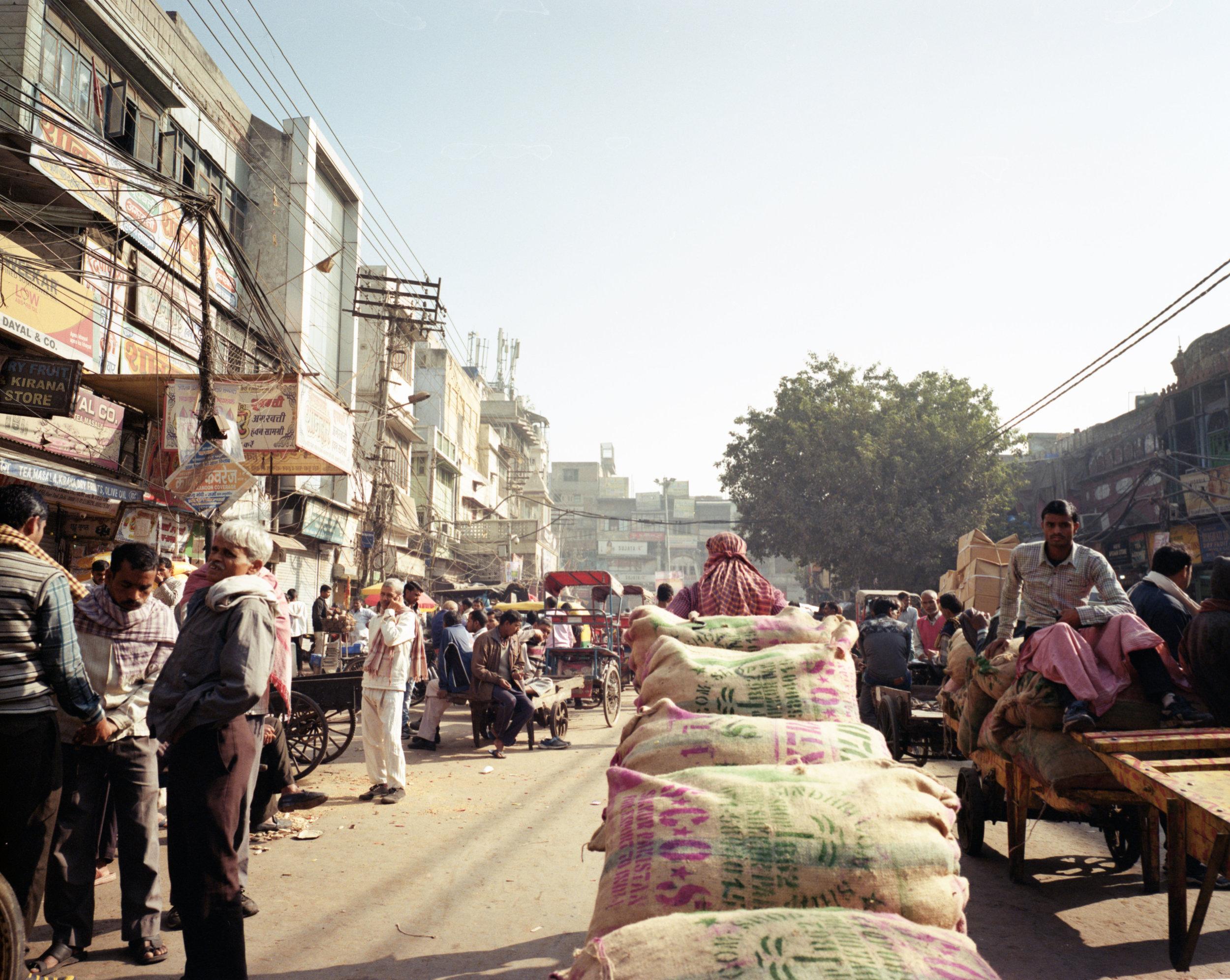 The Streets of Delhi Fuji GF670w | Lomography 100