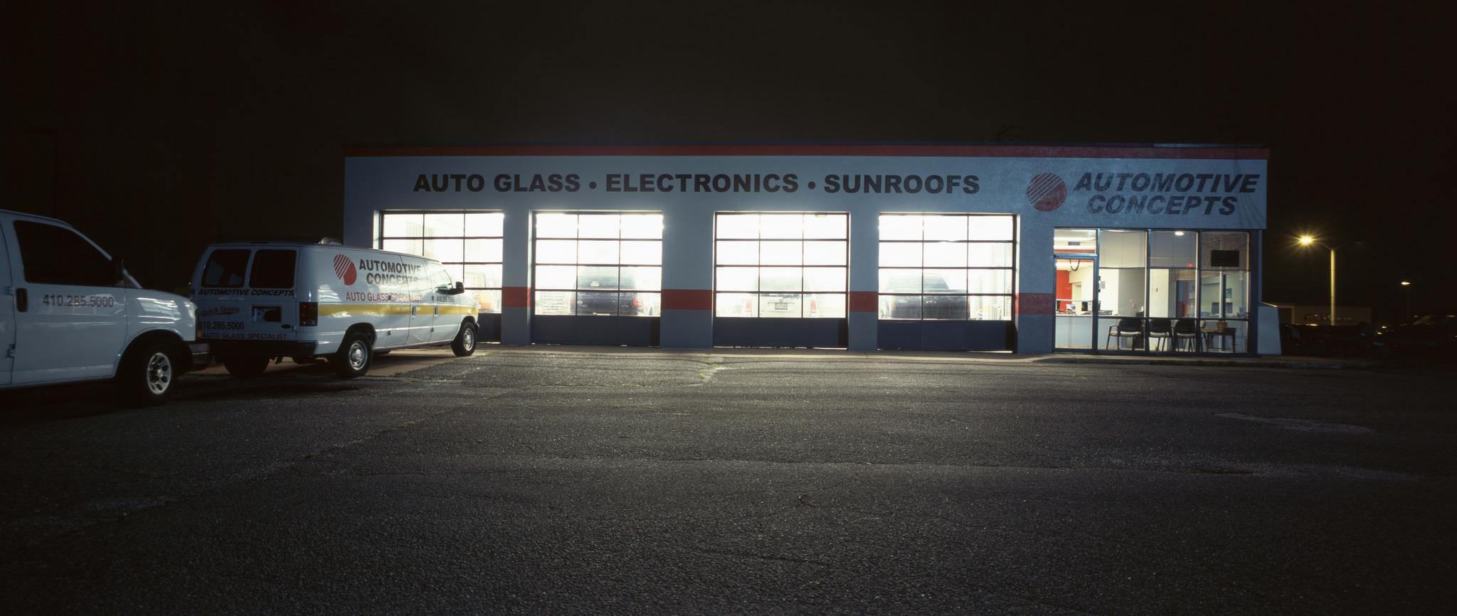 Autoglass. Electronics. Sunroofs