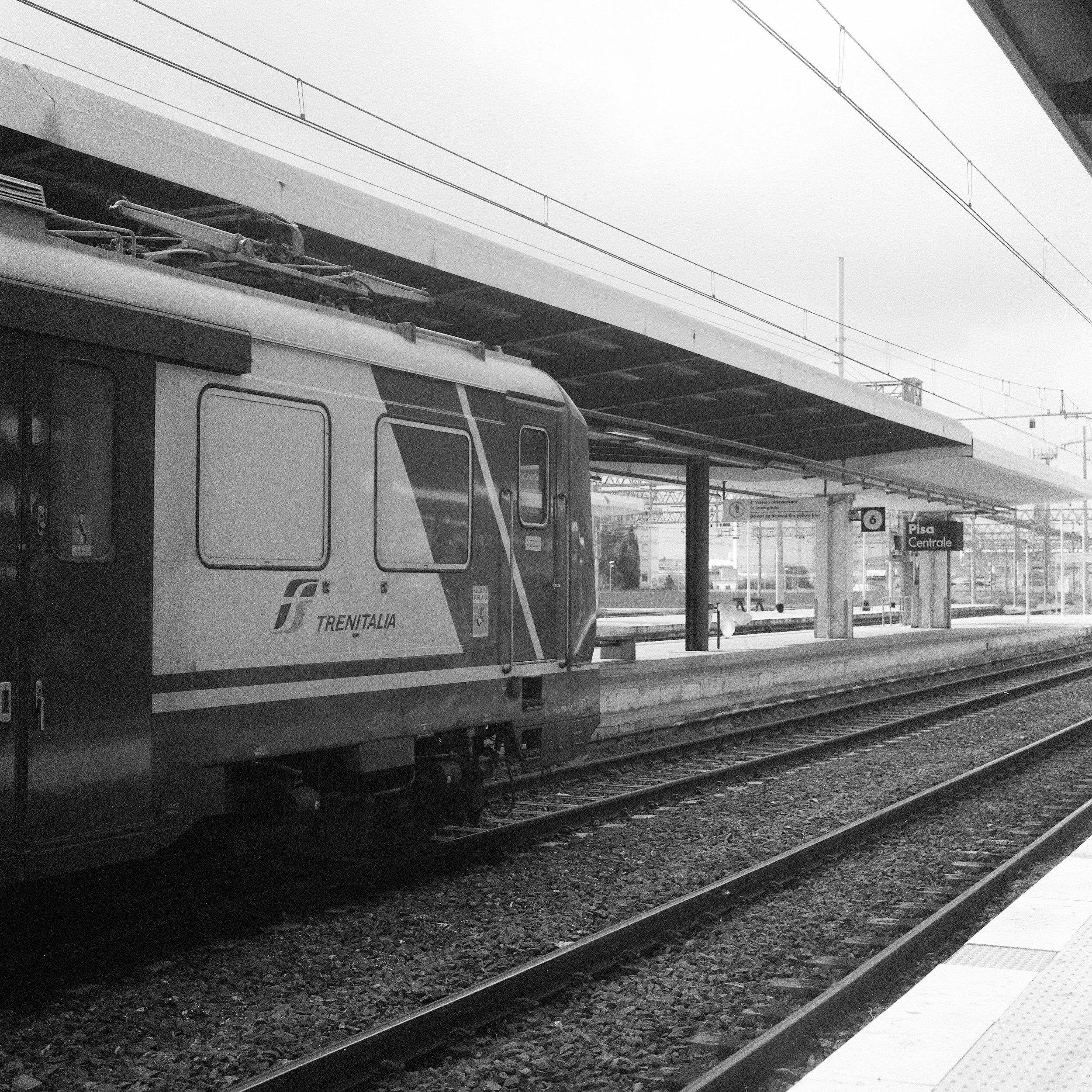 Train to Milan Hasselblad 501c | Bergger Pancro 400