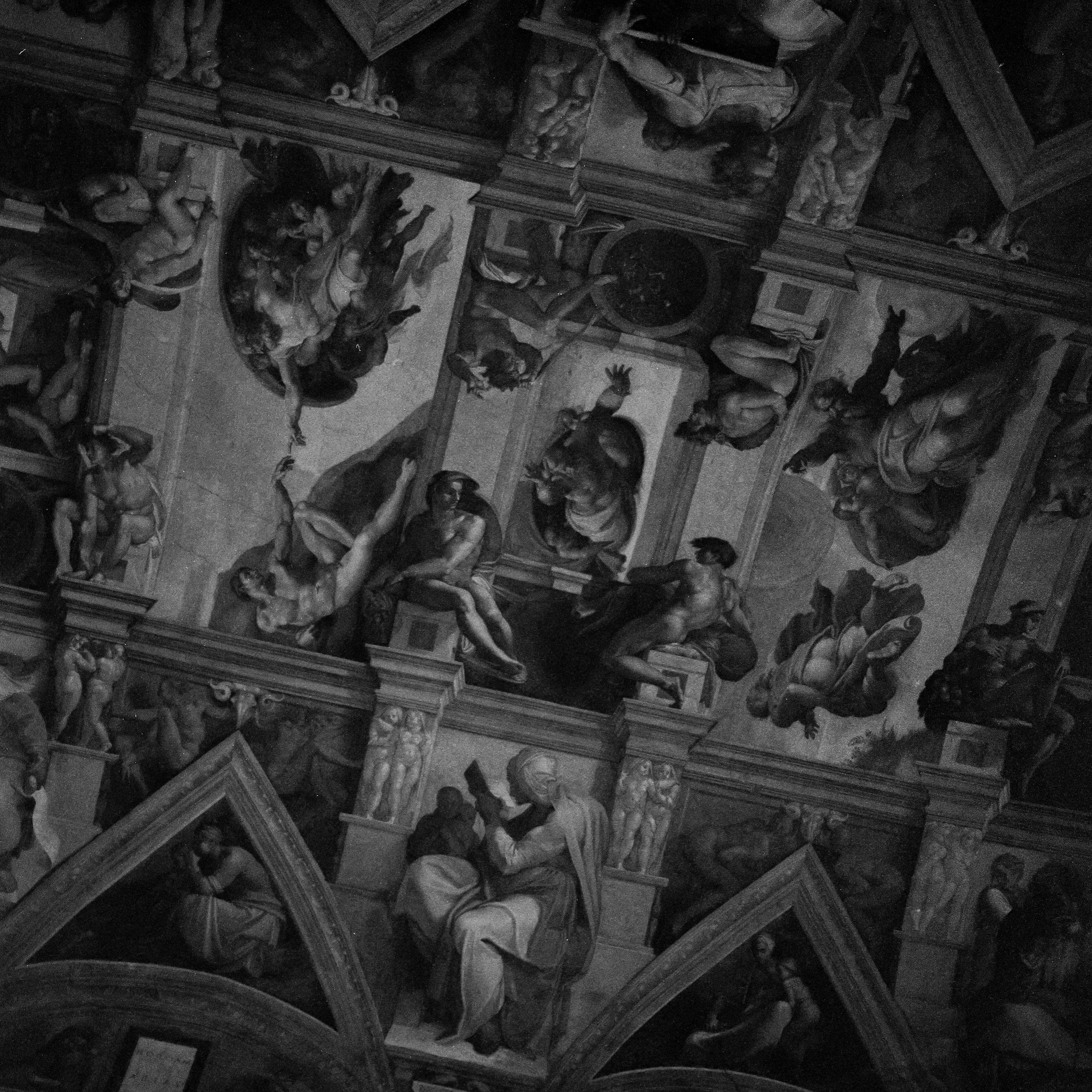 Sistine Chapel Hasselblad 501c | Bergger Pancro 400