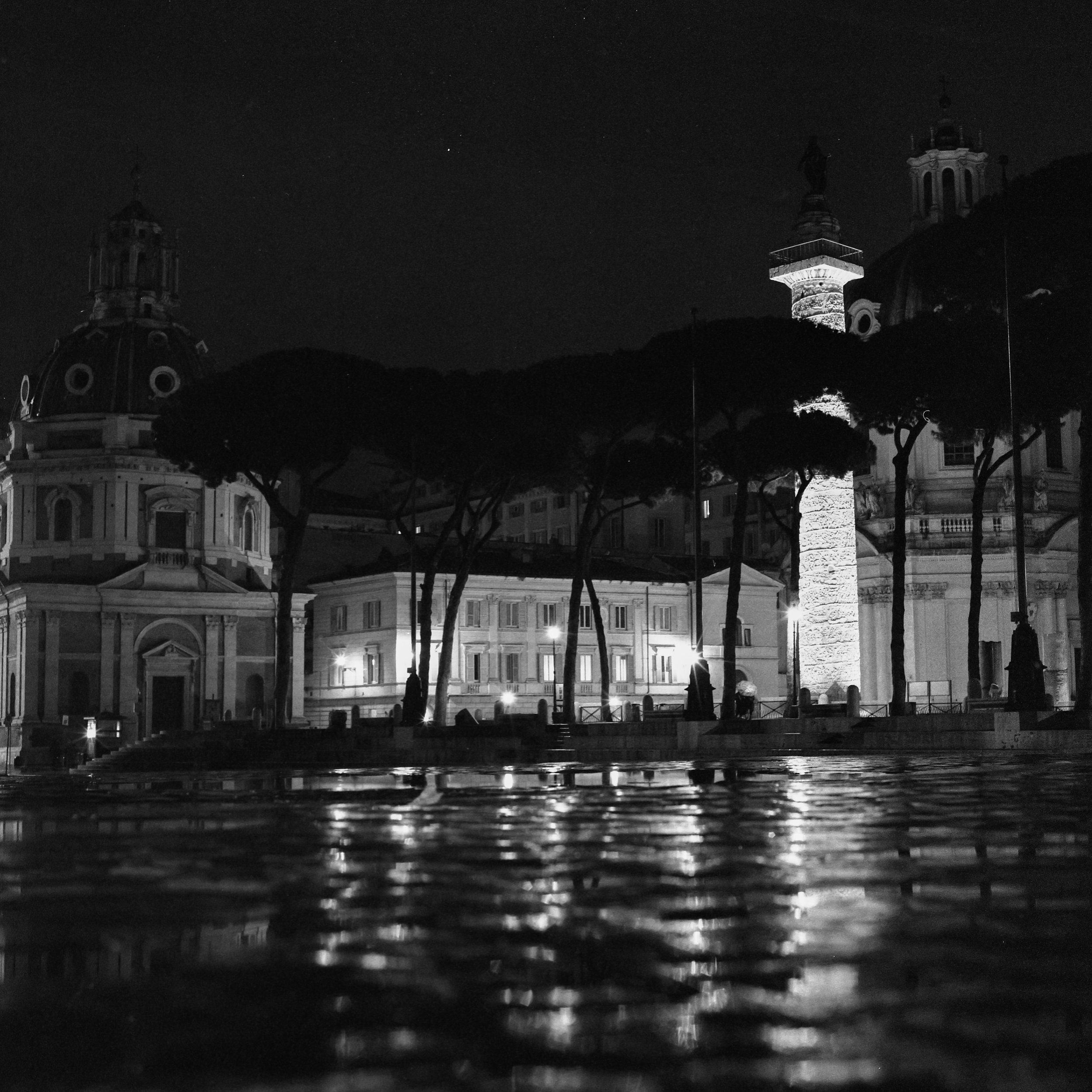 Rome Hasselblad 501c | Bergger Pancro 400