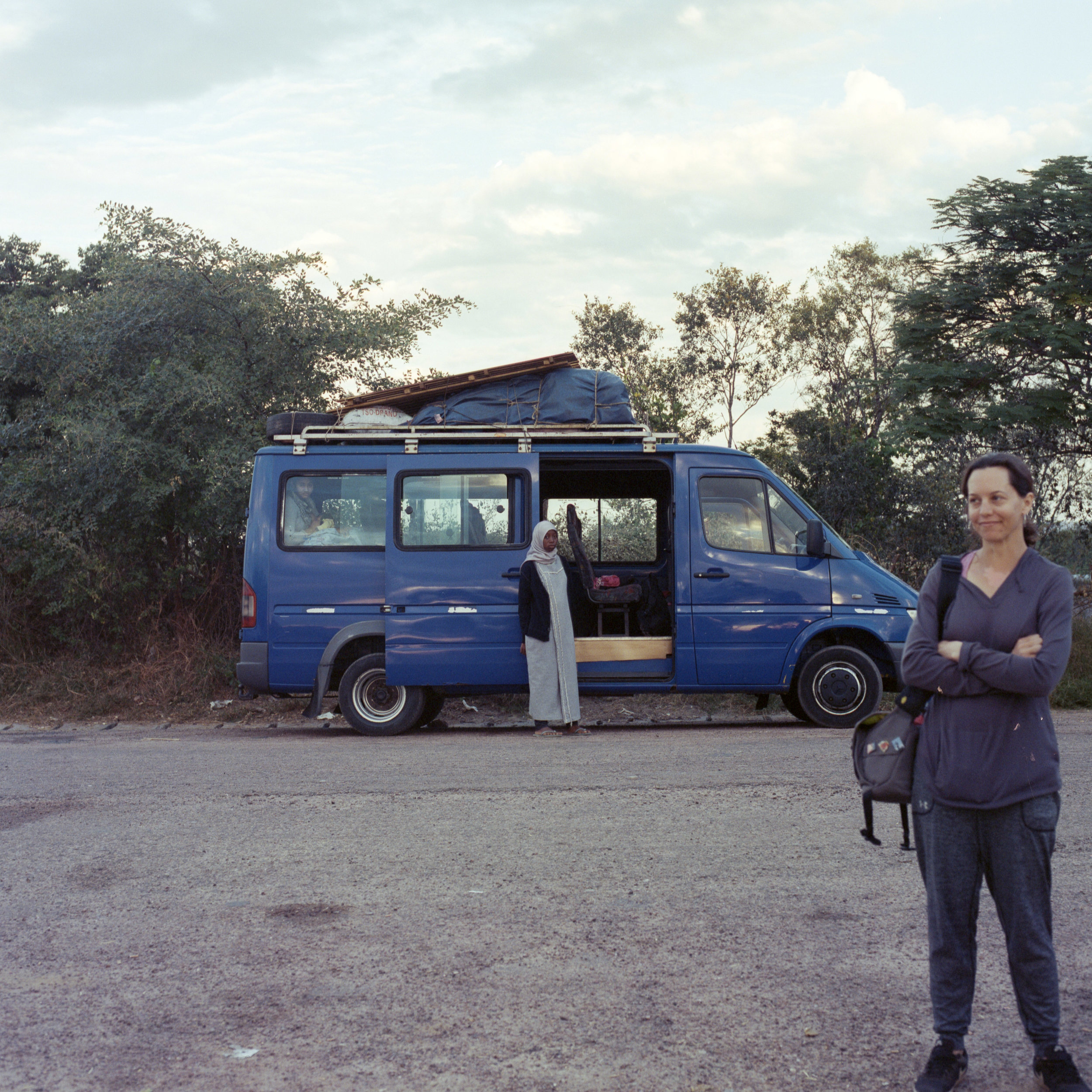 Our Mini Bus  Hasselblad 501c   Kodak Portra 400