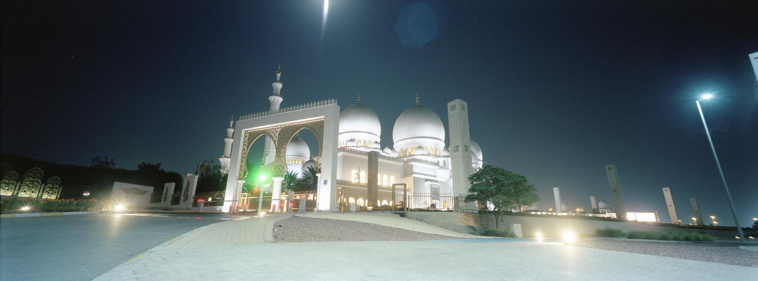 Sheik Zayed Mosque | K6x15VX | Portra 400
