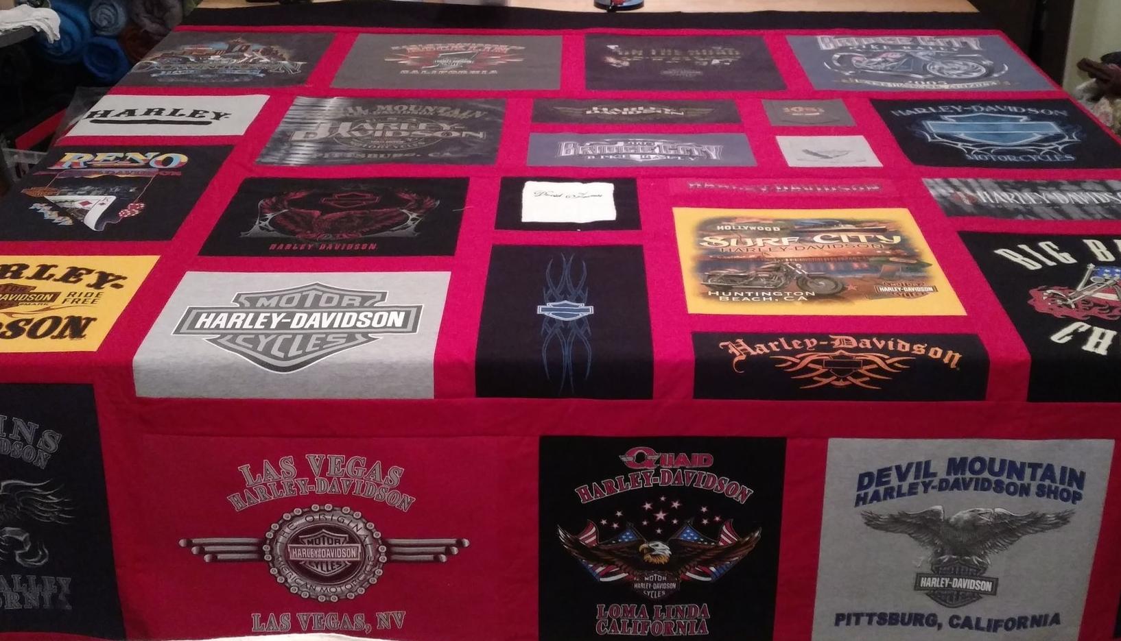Custom T-Shirt Quilts -