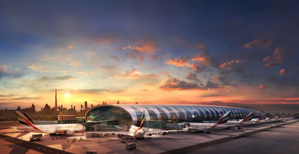 To teρμιναl 3 στο αεροδρομιο του dubai
