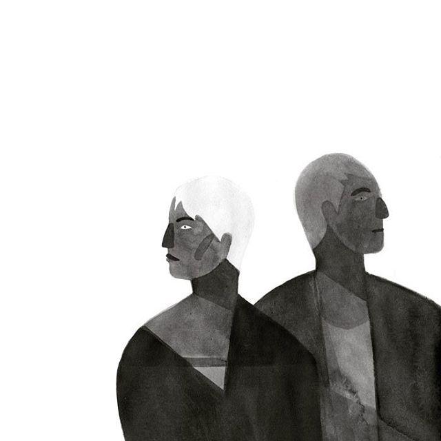 🌞 #ink #blackandwhite #sketchbook #illustration