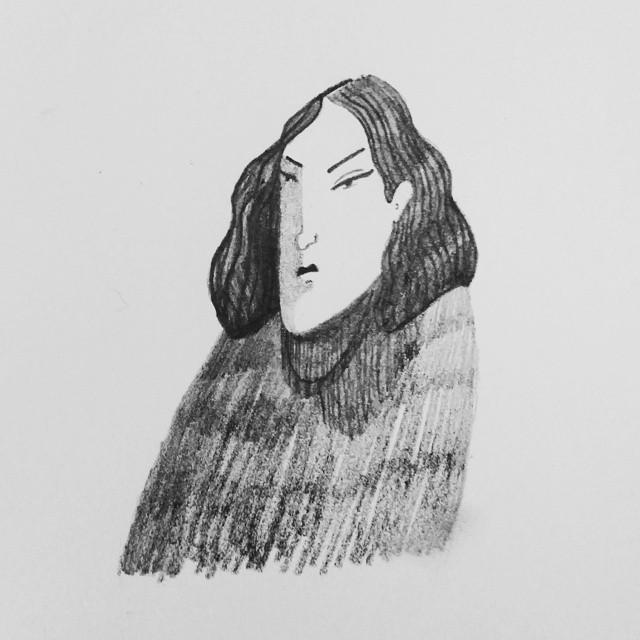 #illustration #blackandwhite #sketchbook #pencil