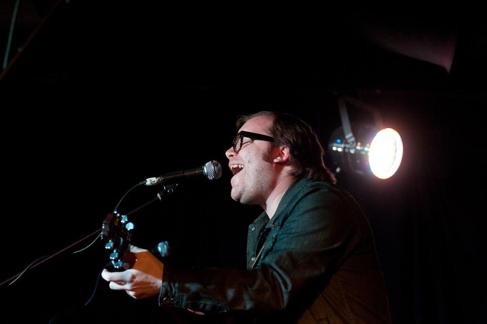 Playing at the 1st Edmonton Music Awards (2012)