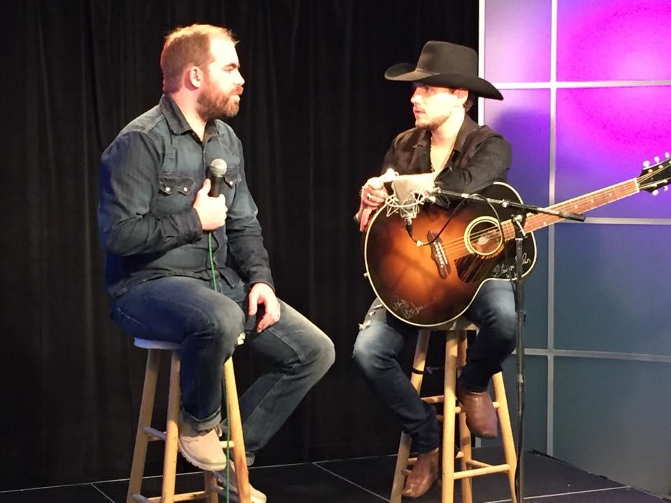 Interviewing Brett Kissel on YEG Unplugged
