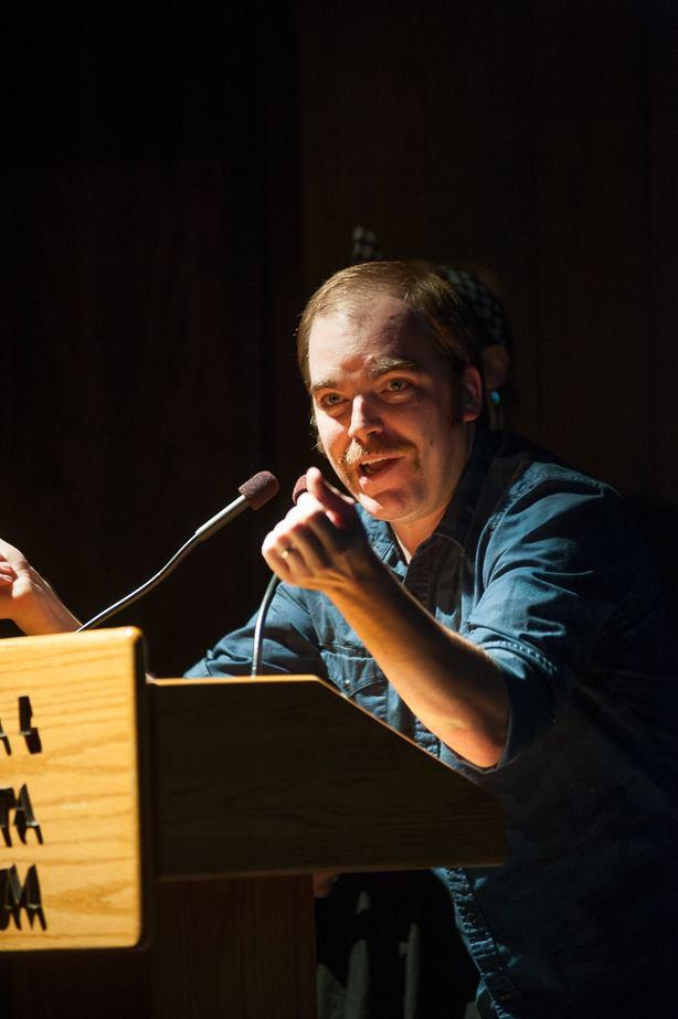Presenting at the 2014 Edmonton Music Awards