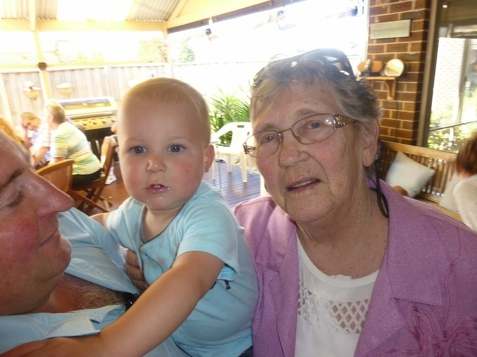 Mum & great grand son James
