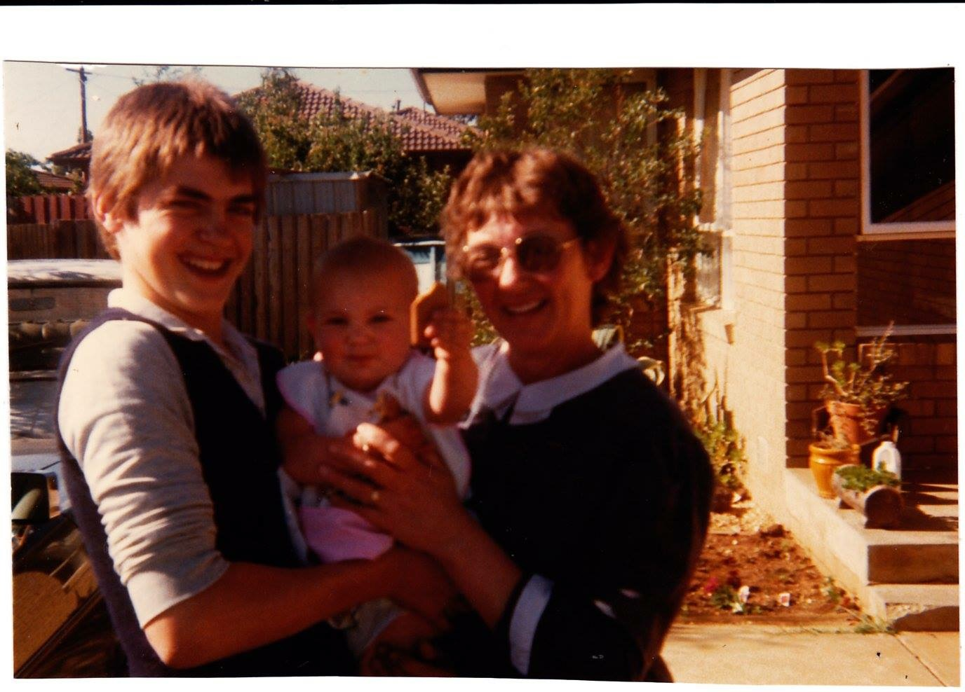 Mum, me, and Terri