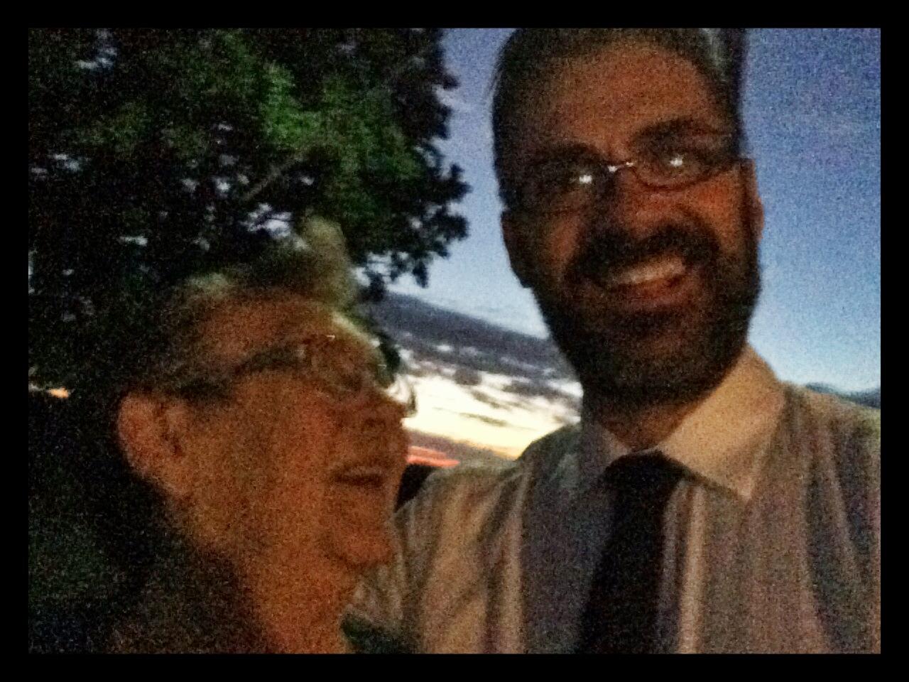 A selfie with my ma Jan 2015