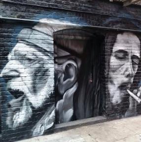 Willie Nelson x Bob Marley