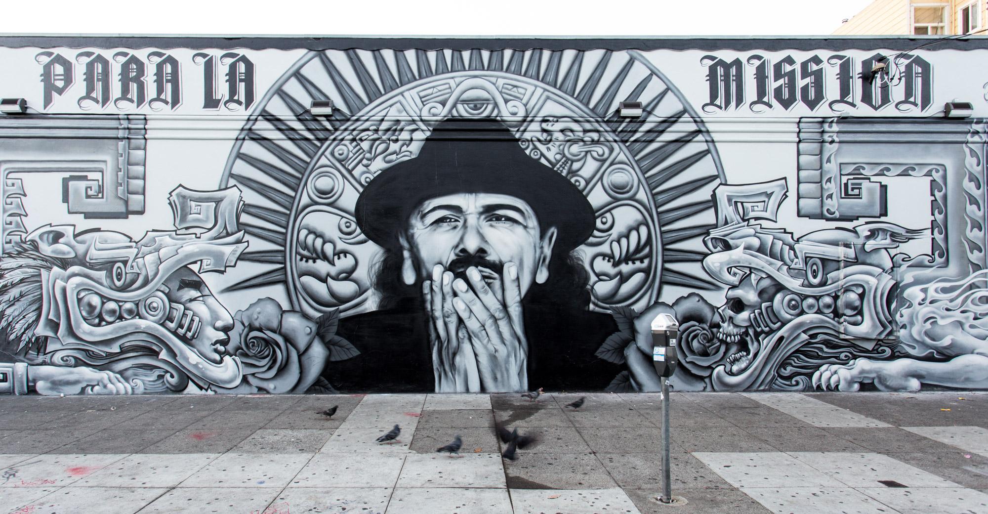 Santana Mural