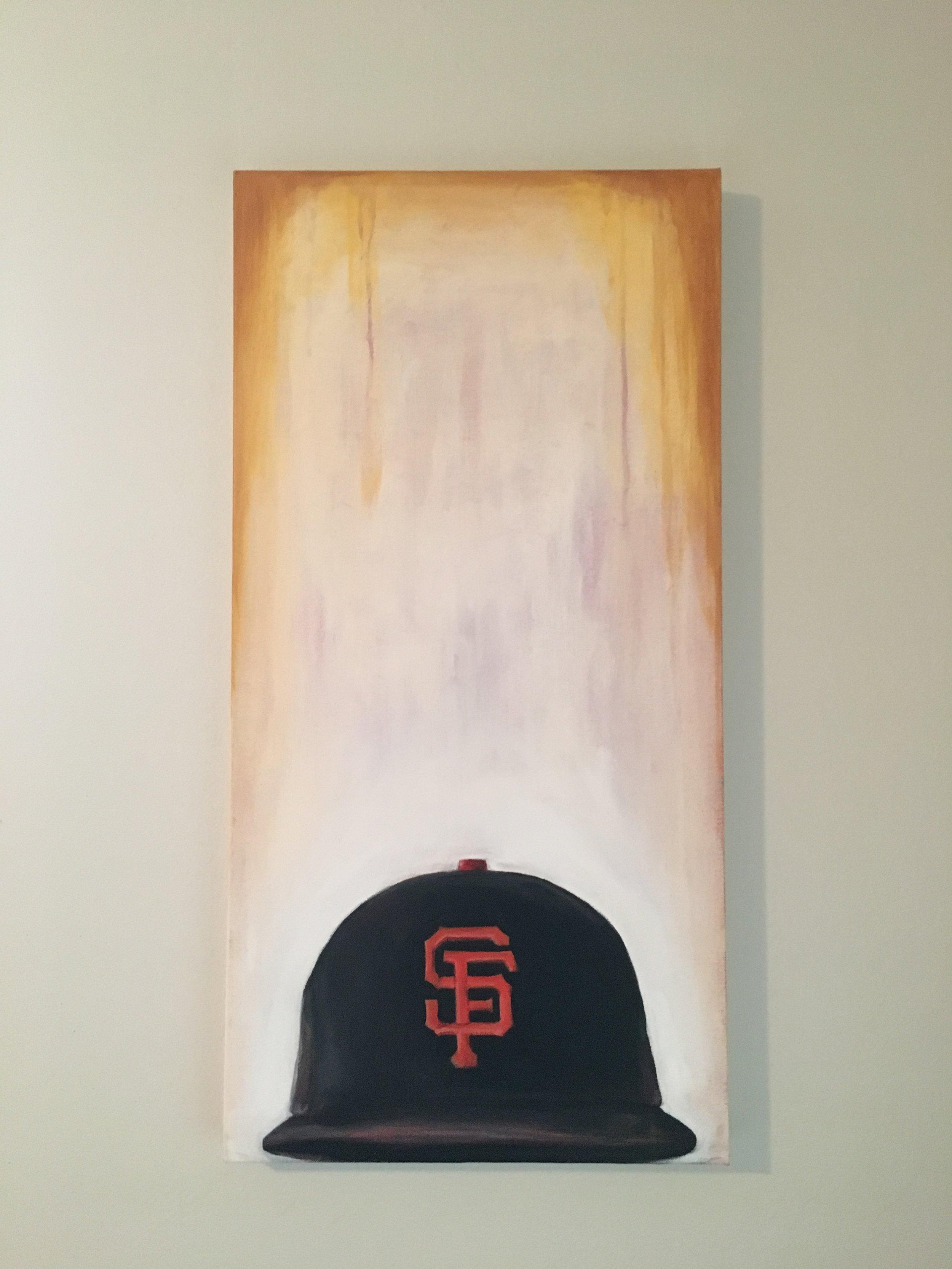Giants - Spray paint and acrylic on wood