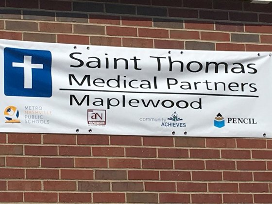 Saint Thomas Medical Partners Maplewood - St. Thomas Clinic Grand Opening at Maplewood High SchoolFriday, August 4th 10 am