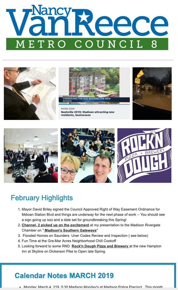 Click on image to open March 2019 Newsletter