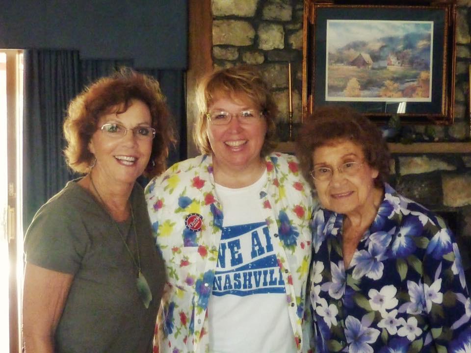 JoAnn North, Nancy VanReece, Kitty Wells,; 2011