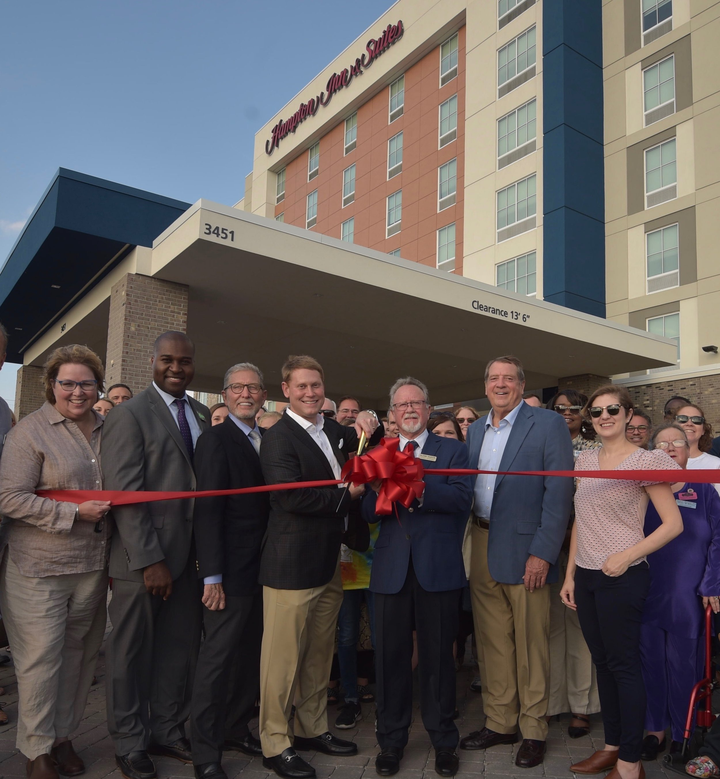 The September 19, 2019 Ribbon Cutting with Madison Rivergate Chamber of Commerce