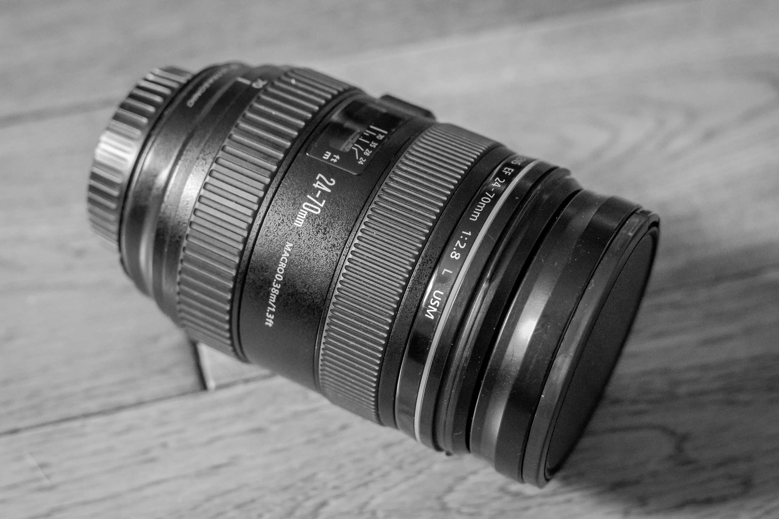 The versatile 24-70mm 2.8 lens is my workhorse.