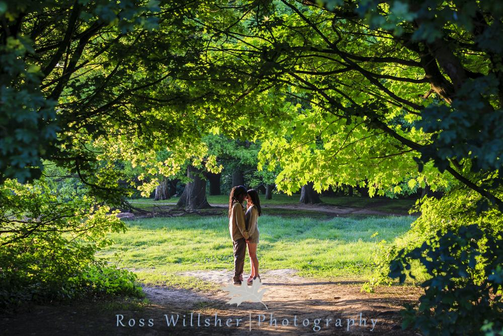 Hampstead Heath Engagement Photography