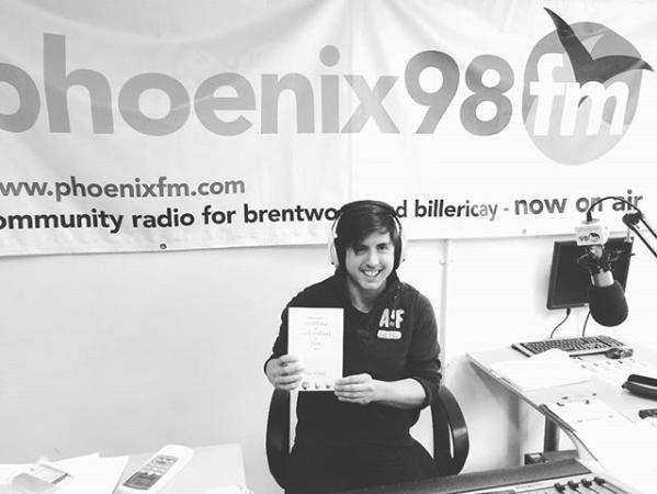 Ross on the radio!