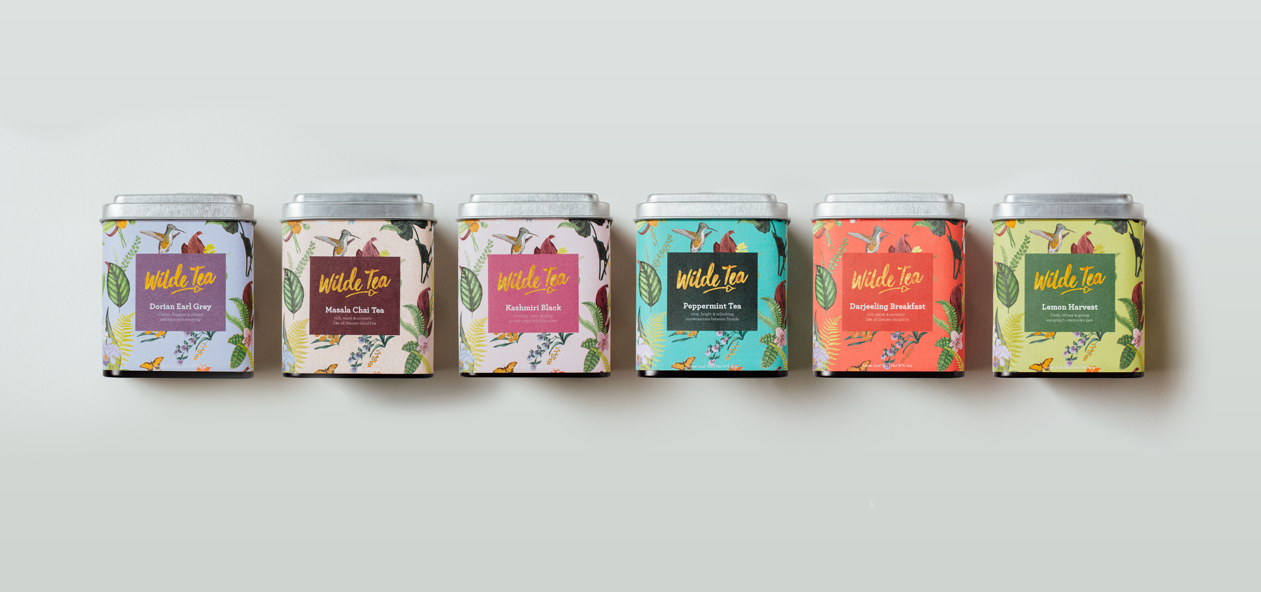 Wilde Tea Varieties