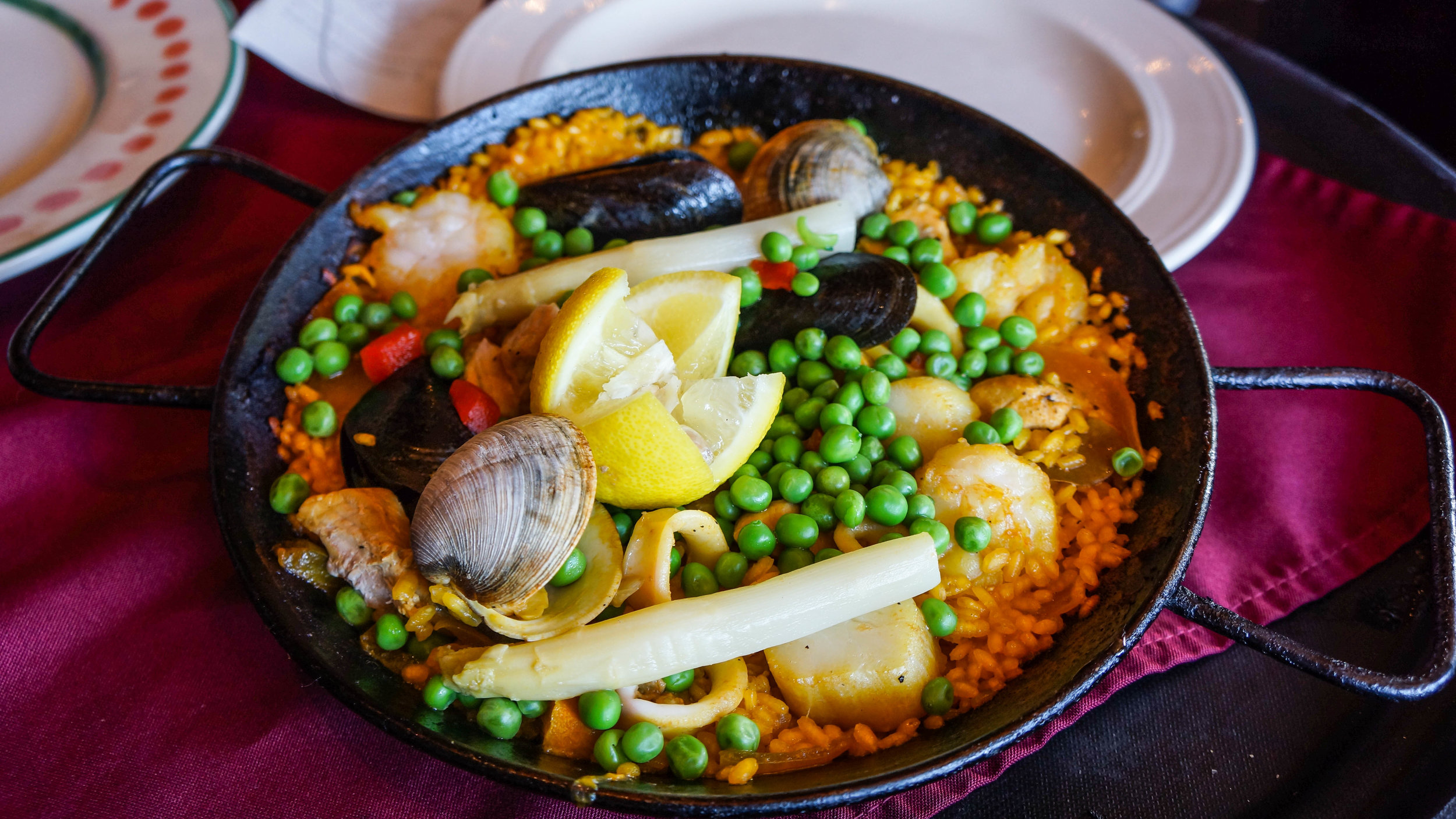 Paella From Columbia Restaurant in Tampa Bay Florida