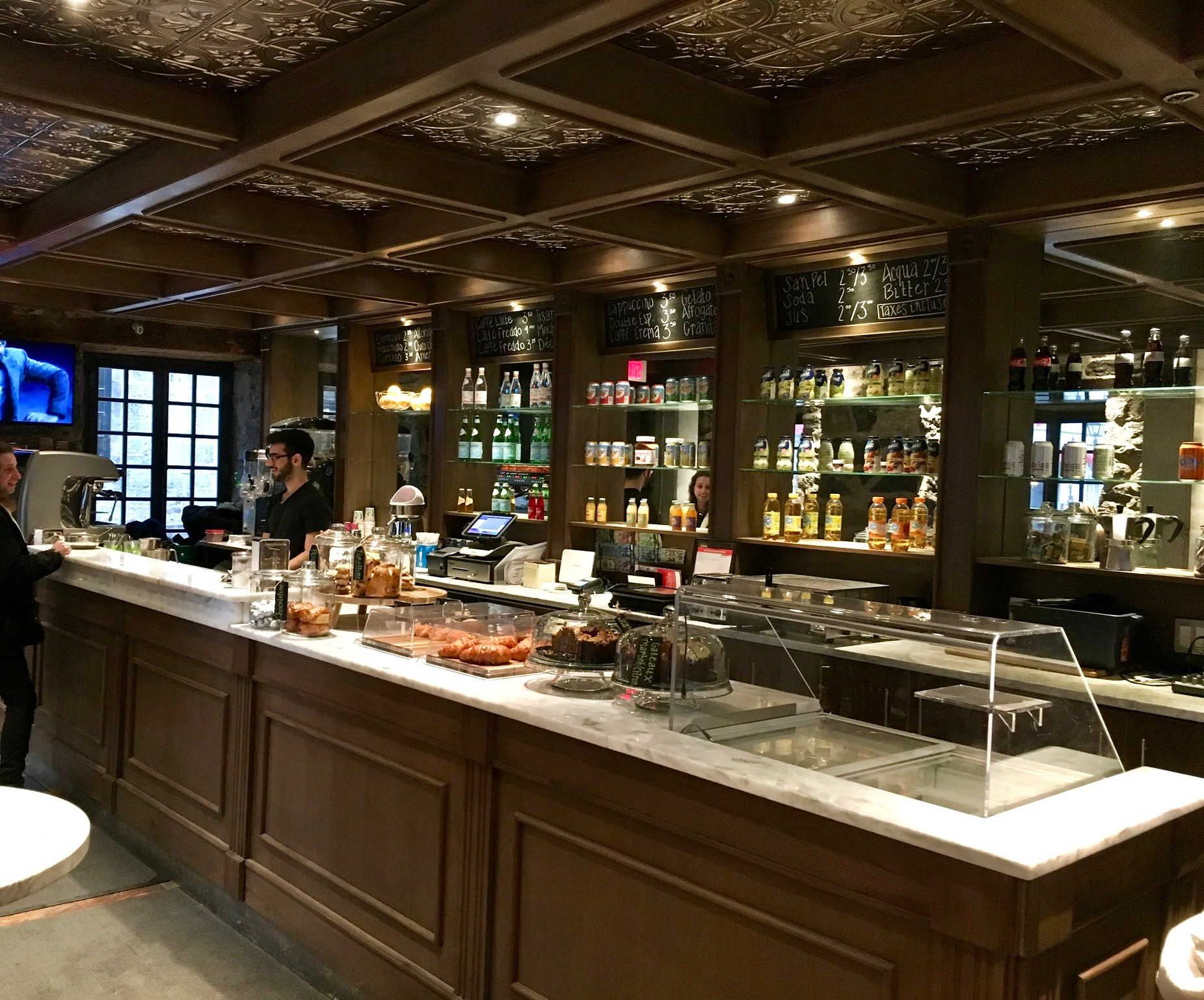Cafe in Hotel William Gray