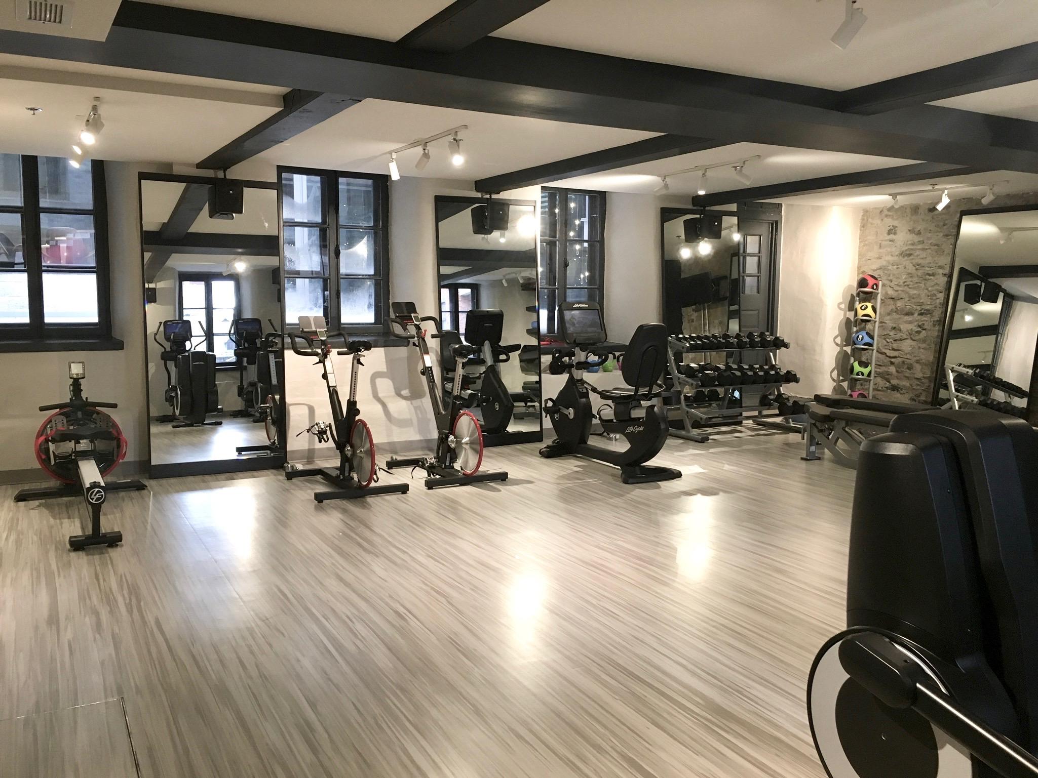Fitness Centre in Hotel William Gray