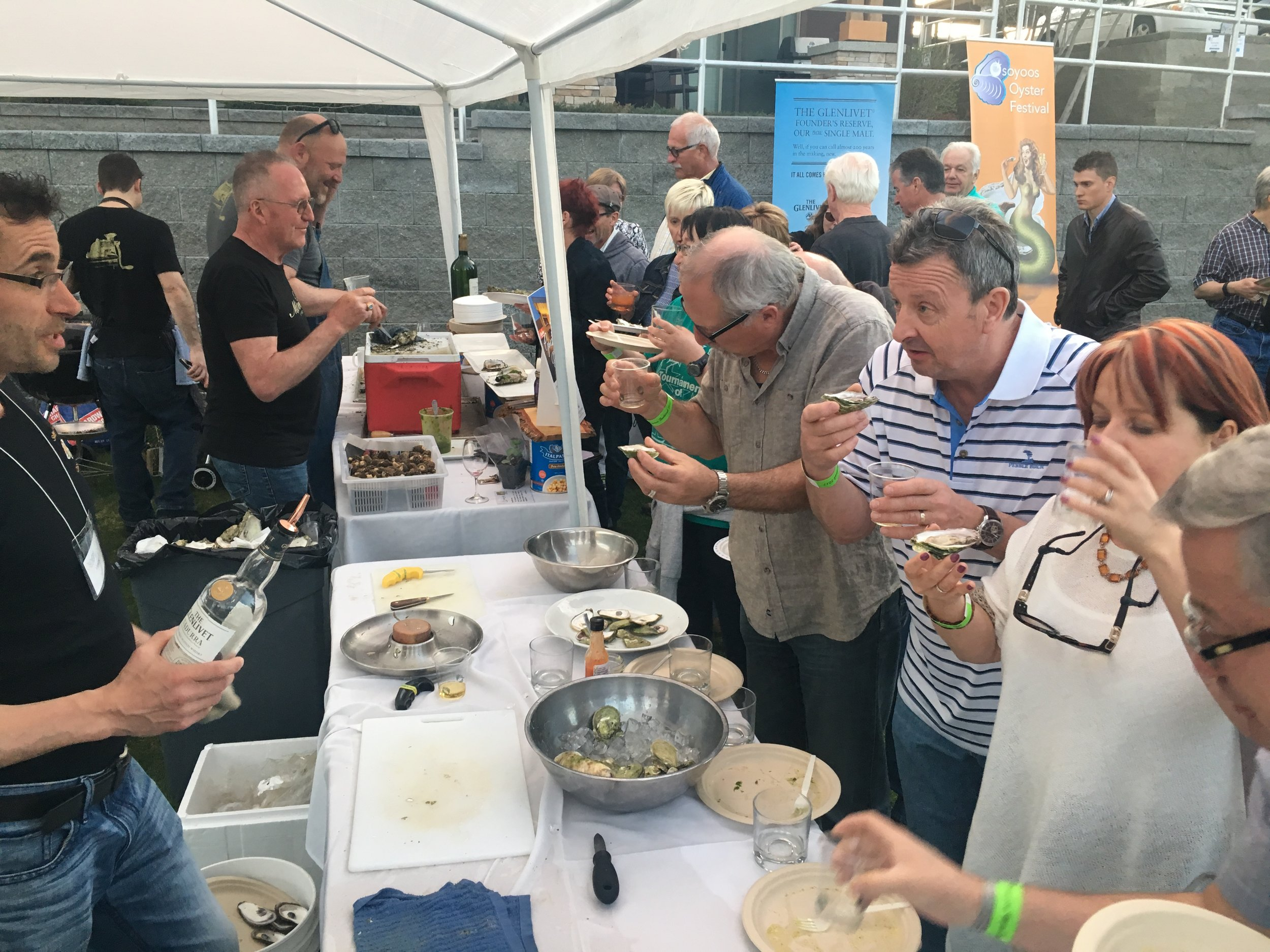 Osoyoos Oyster Festival at Watermark