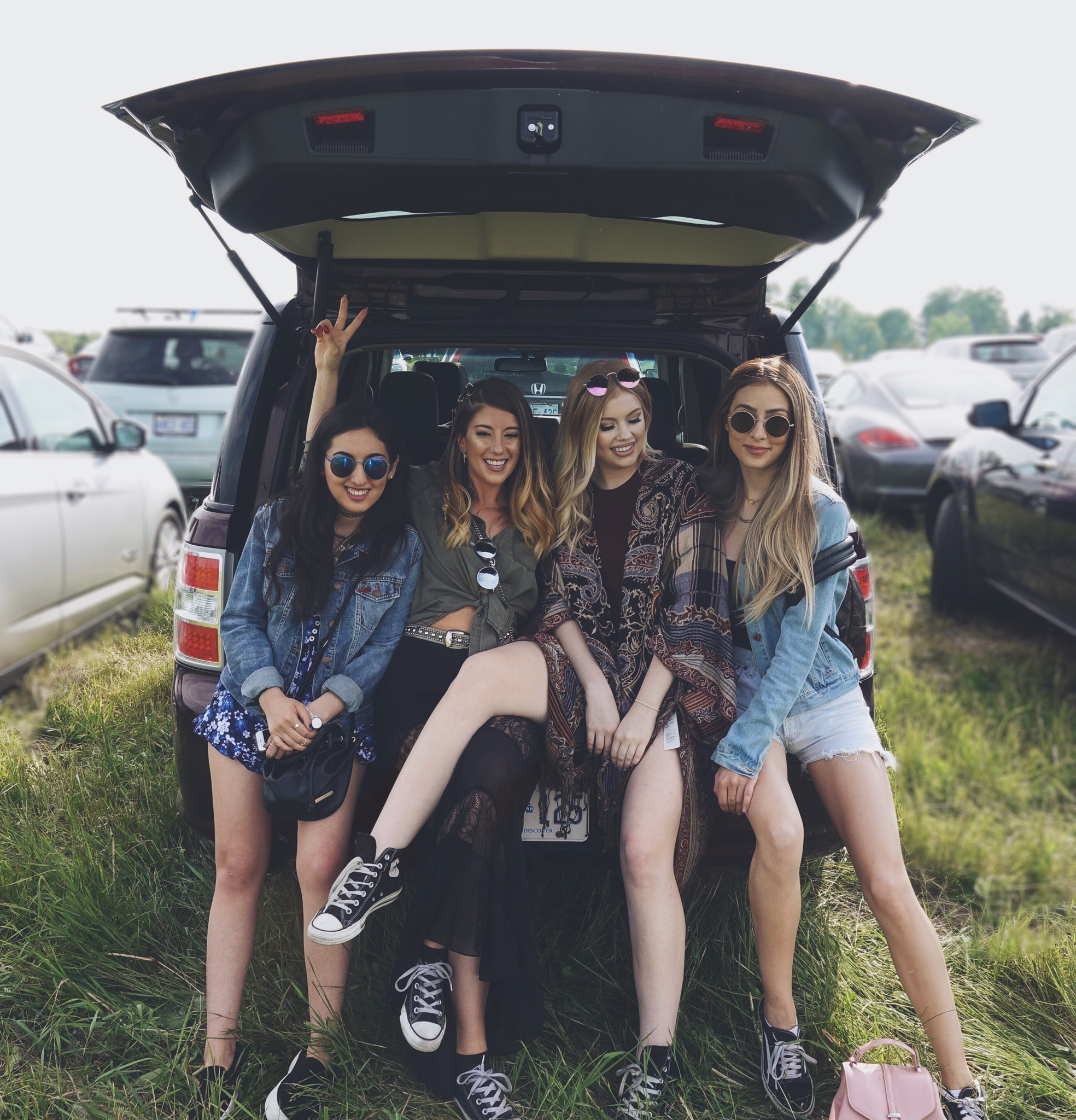 Festival Road Trip with the Girls