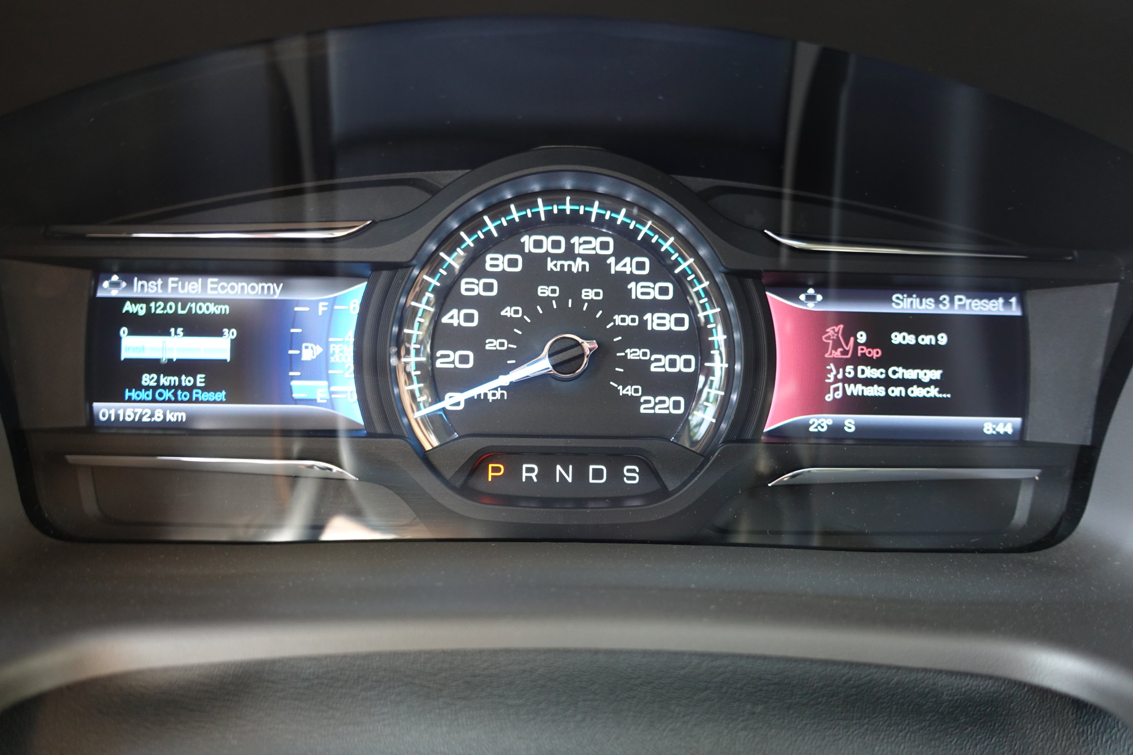 Ford Flex Dash