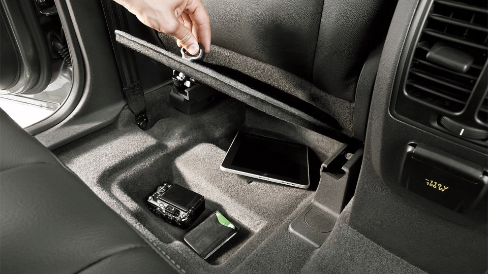 Hidden Compartment - Photo from Ford Website