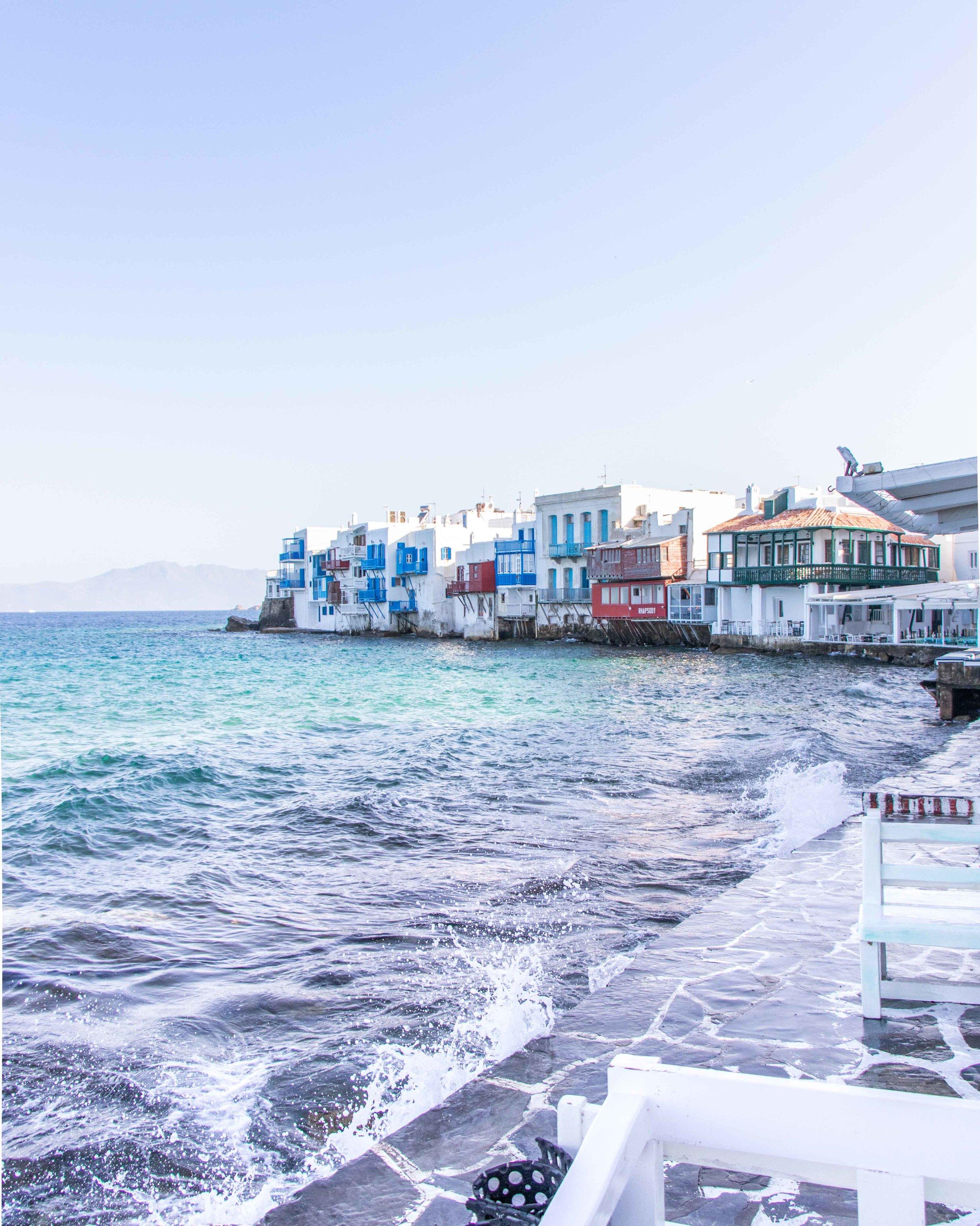 Little Venice Area - Mykonos Old Town