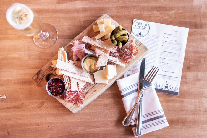 Enjoyed a charcuterie board at Meat & Cheese in Aspen, CO