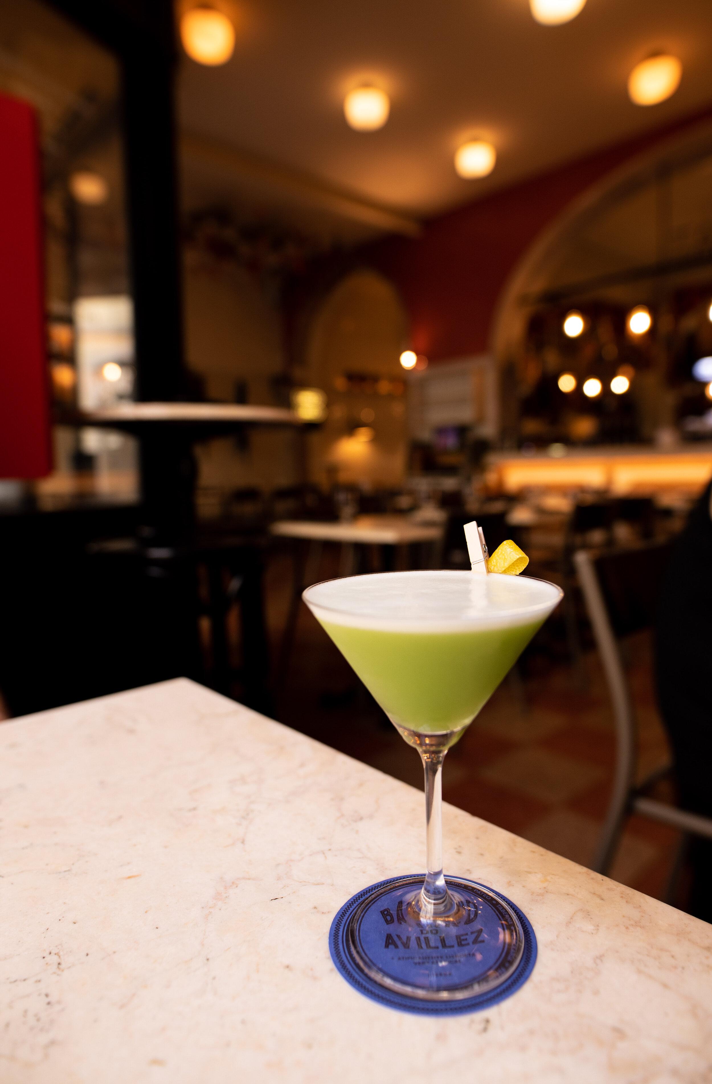 Primo Basilico - Gin and Basil Cocktail