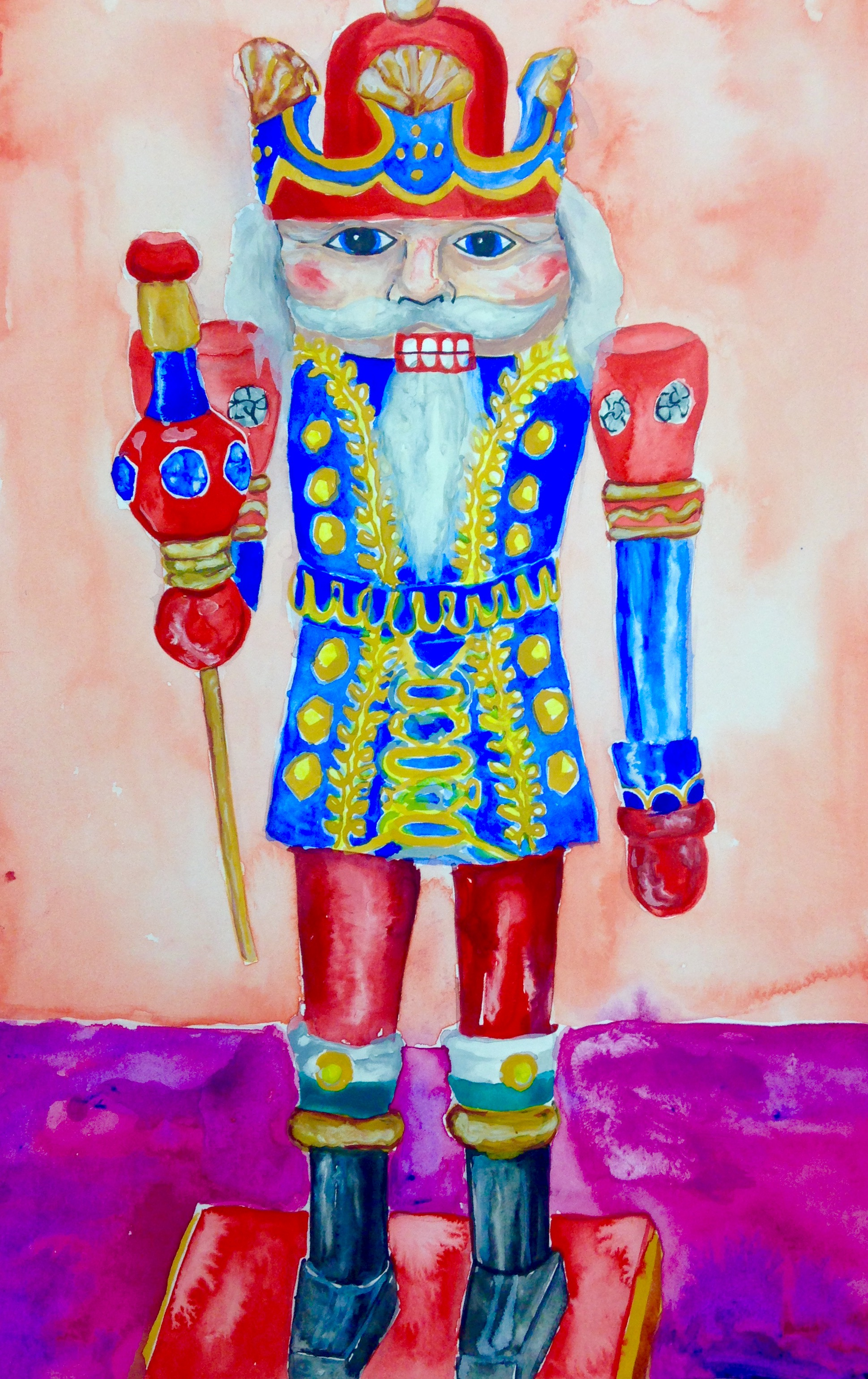 Knight King Nutcracker