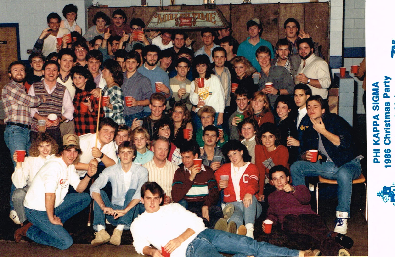 1986 Christmas Party
